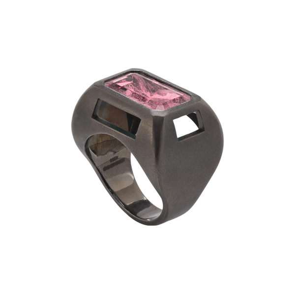 Chromeo Pink Tourmaline Ring