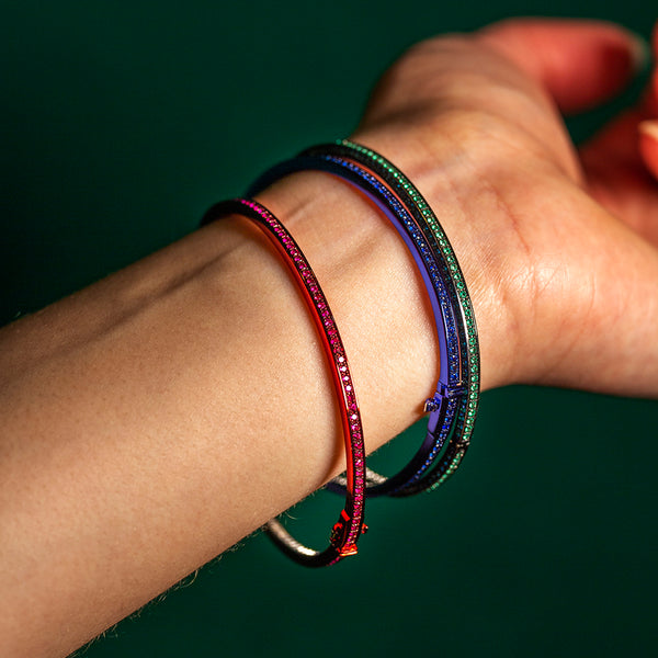 Chromantic Ruby Bangle
