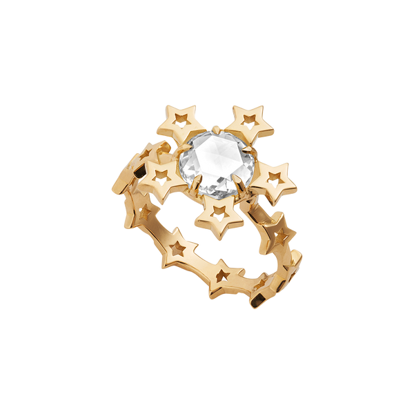 Circles of Love Star Ring
