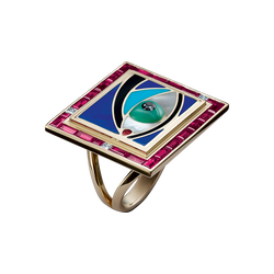 Cosmic Eye Ring