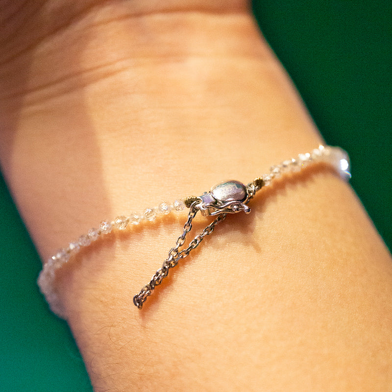 Diamond Beaded Bracelet