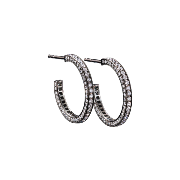 Eternity Medium Diamond Earrings