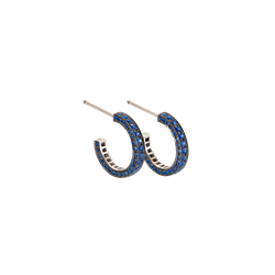 Eternity Small Sapphire Earrings