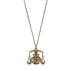 Libra Diamond Pendant