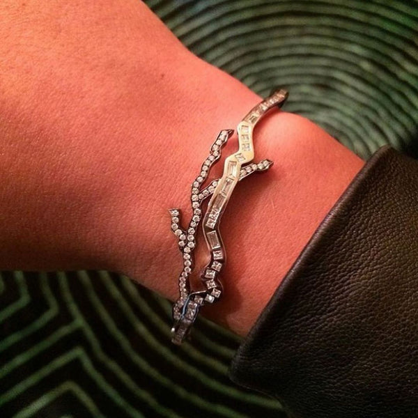 Lightning Bolts Bangle