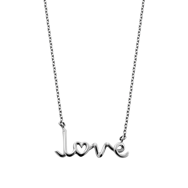 Love Written Pendant