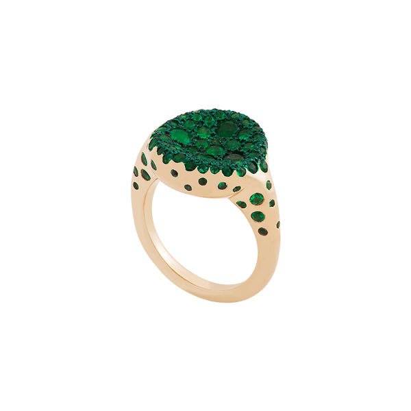 Mardi Emerald Ring