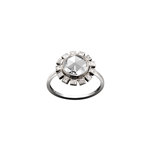 Milk Diamond Ring