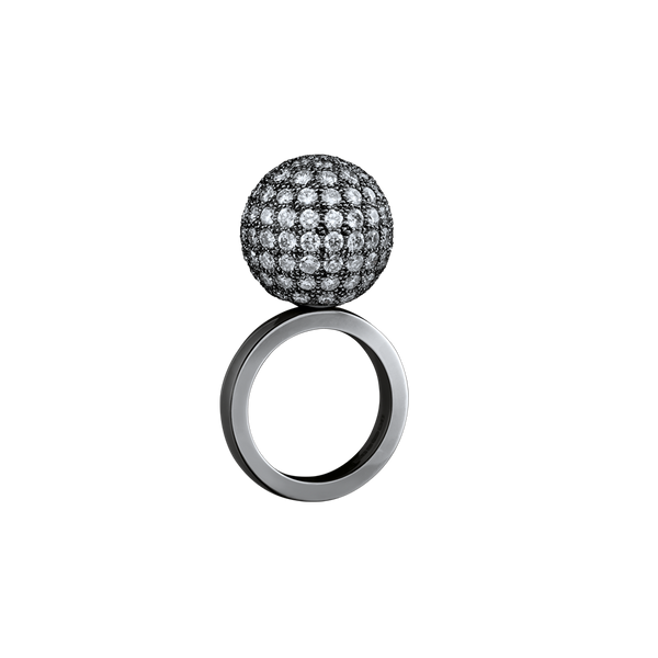 Mirror Ball Diamond Ring