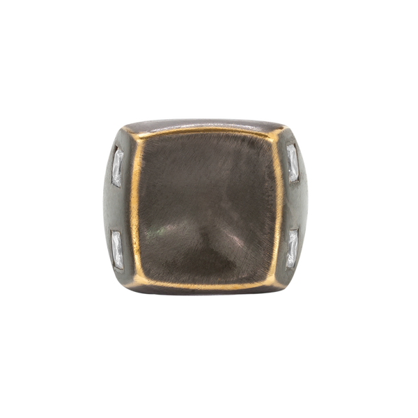 Muz Baby Blackened Ring