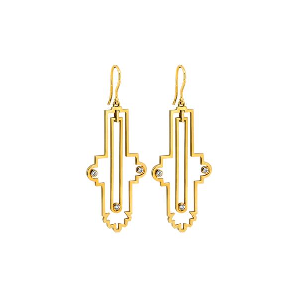 Notre Dame Earrings