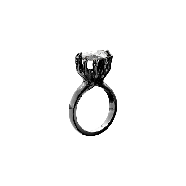 Offering Rose Cut Diamond Ring