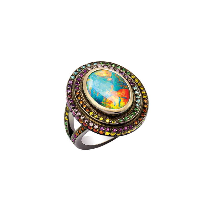 Opal Fruit Ring