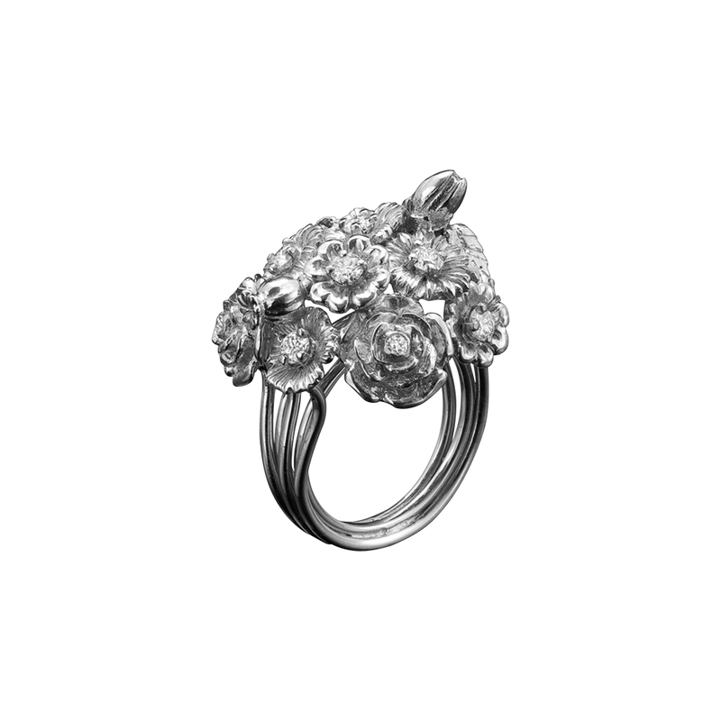 Posy Diamond Ring