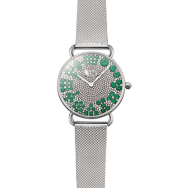 Rounds Emerald Watch