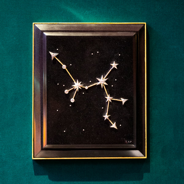 Sagittarius Zodiac Constellation Wall Plaque