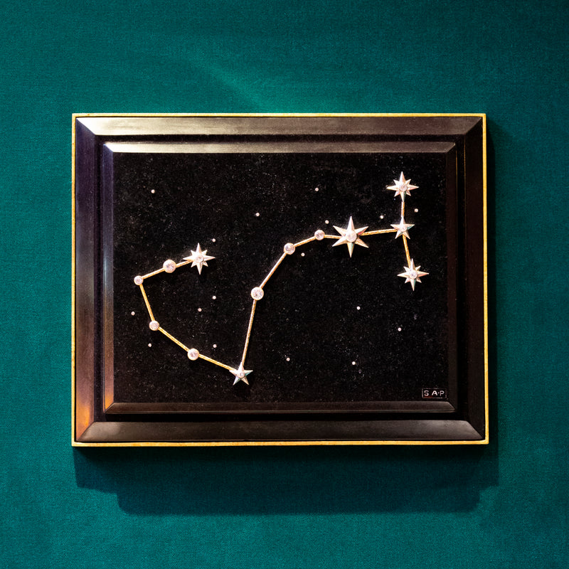 Scorpio Zodiac Constellation Wall Plaque