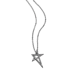 Shooting Star Diamond Pendant