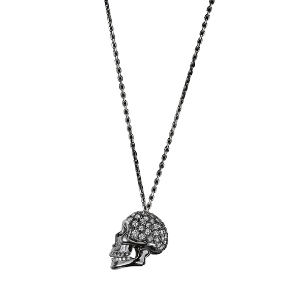 Skull Diamond Pendant