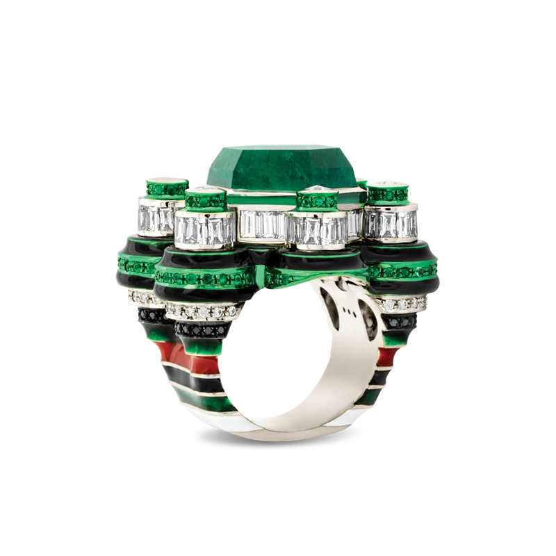 Poptails Space Station Ring