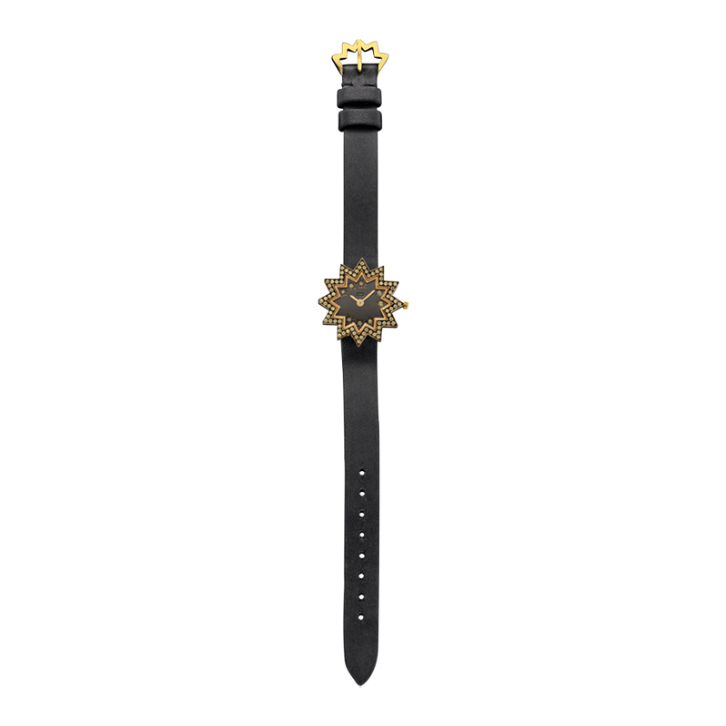 Watchstar Yellow Diamond Watch