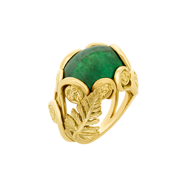 Green Ring Emerald