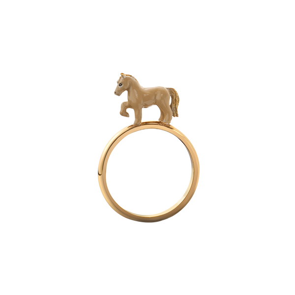 Chinese Zodiac Horse Ring