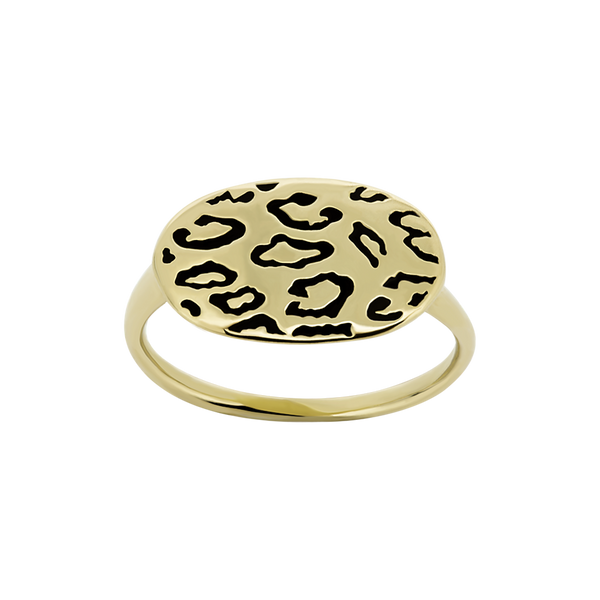 Alpha Leopard Ring