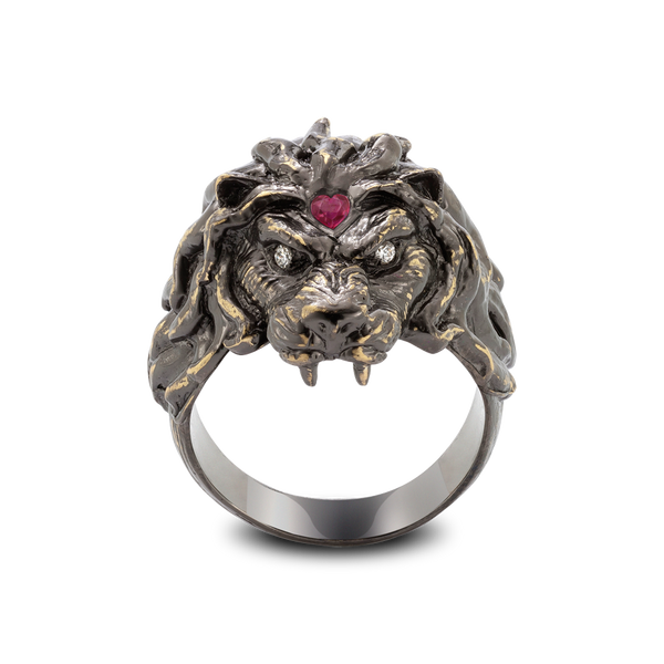 Lionheart Ruby Ring