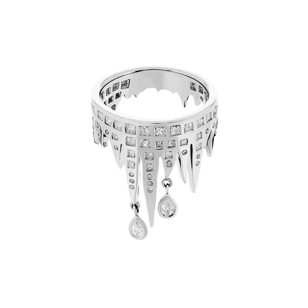 Stalactite Diamond Band