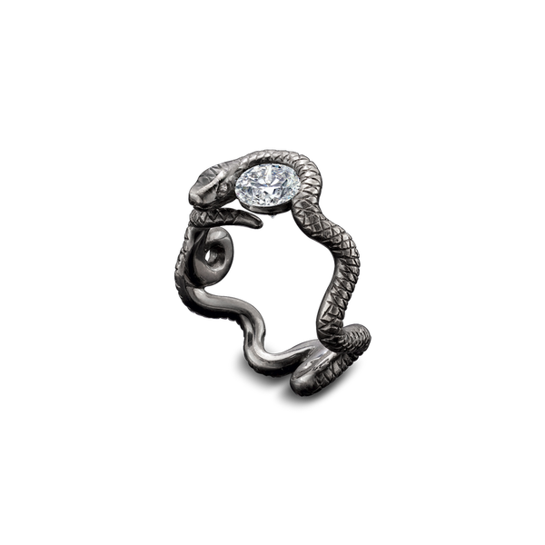 Stoned Gatekeeper Diamond Ring
