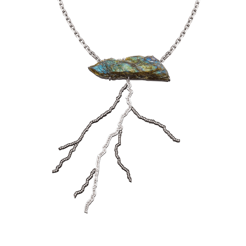 Storm Labradorite Necklace