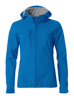 3000mm Waterproof Clique Ladies Softshell Jacket 3 Layer Microfleece Lined