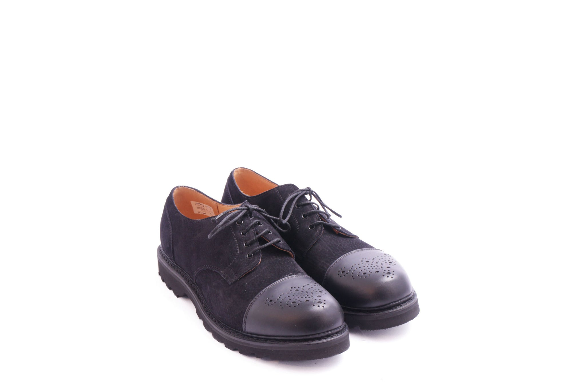 222 M BROGUE BLACK