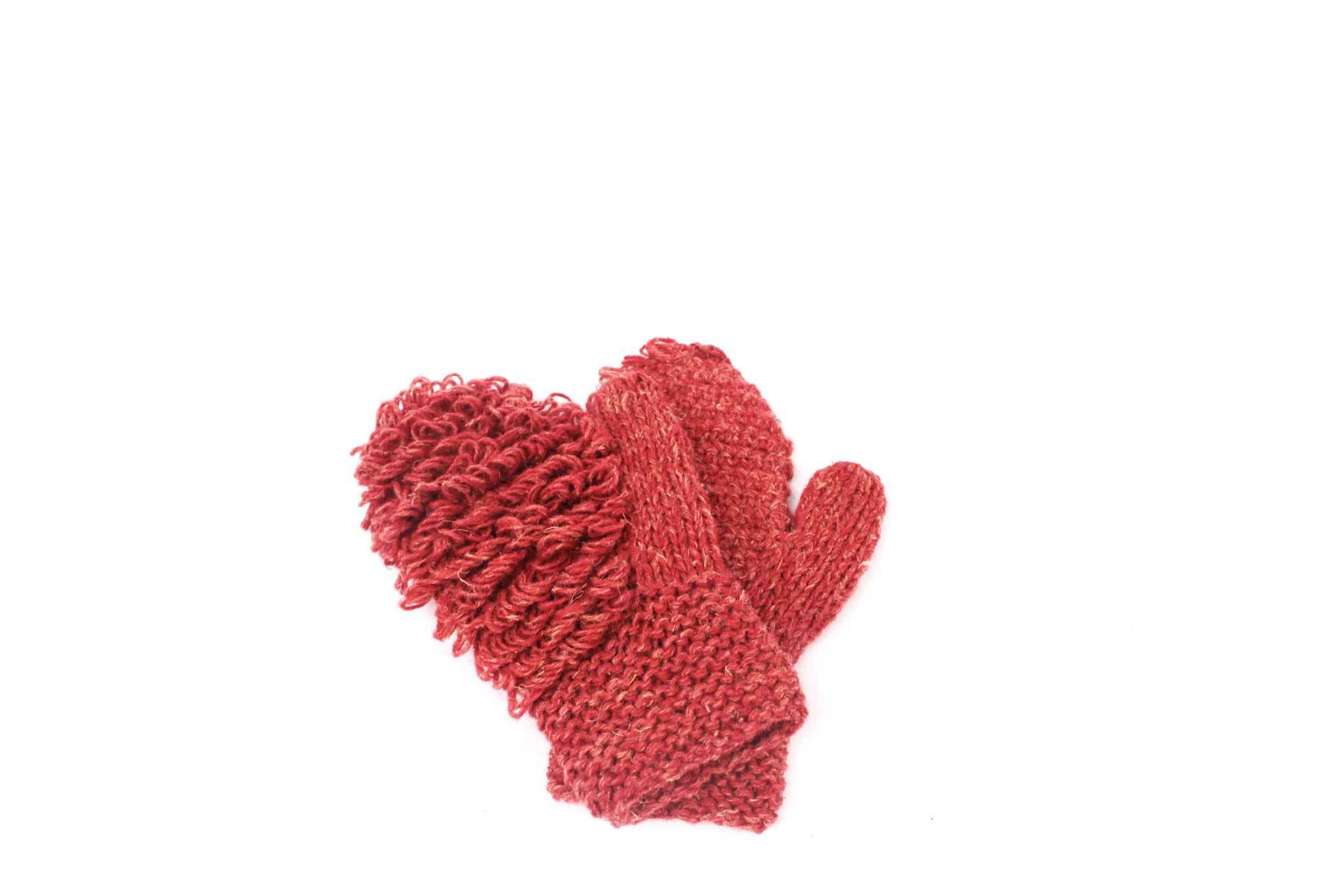 SOFT BOXING MITTENS BORDEAUX