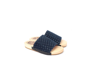 ISI BLUEPRINT SLIPPERS DOTS