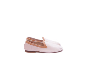KARRÉ SLIPPERS LEATHER WHITE
