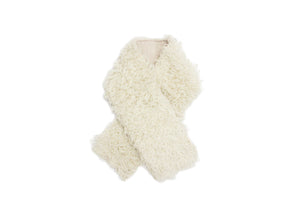 NECK BAND SCARF OFF WHITE