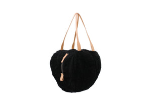 HELMET BAG M CURLY BLACK