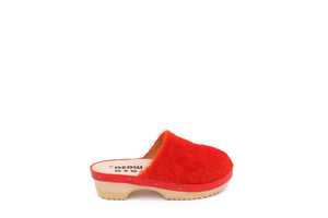 PANTOFFLE BRIGHT RED