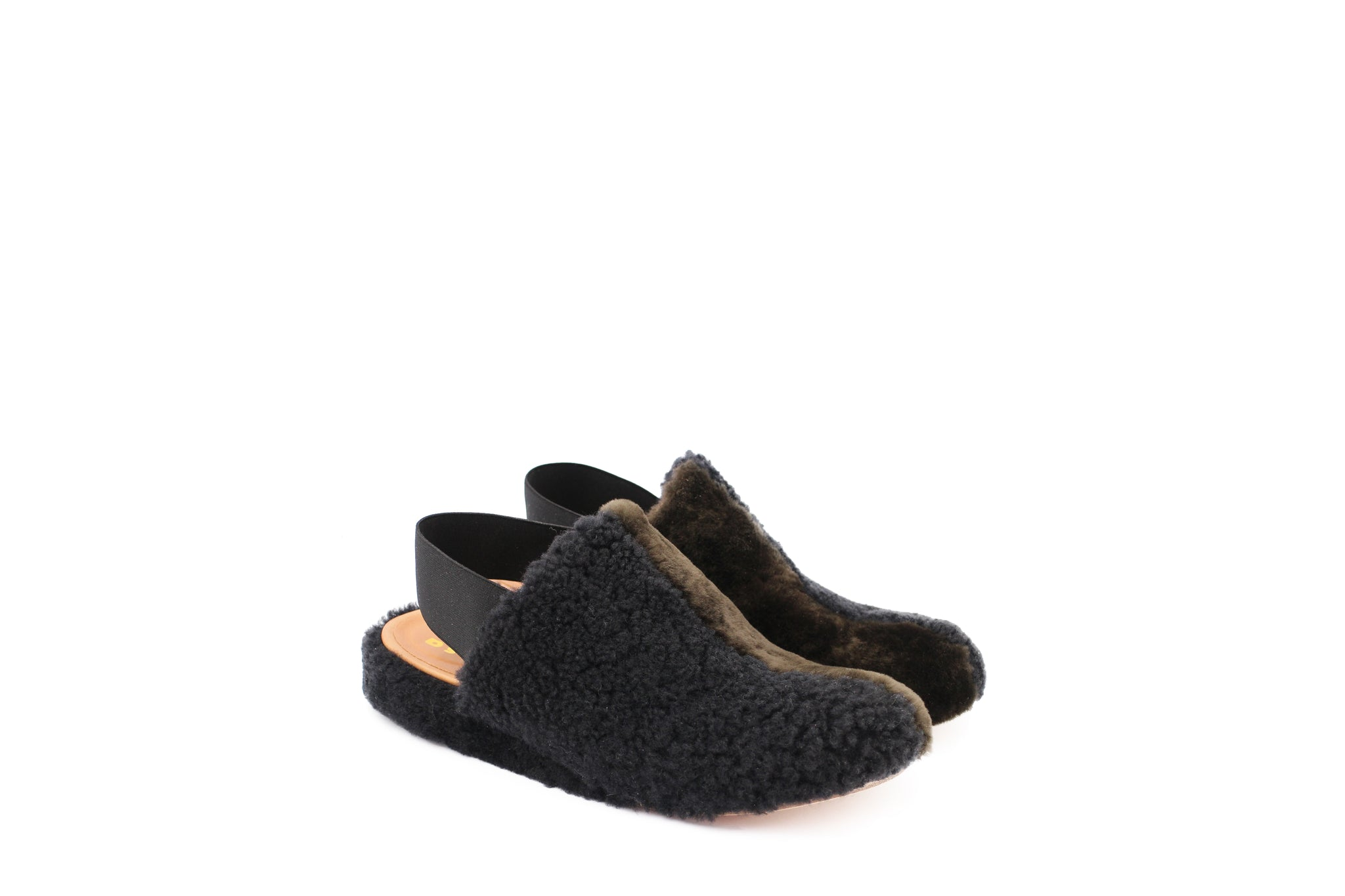 ROMA shoes in BLACK/FORESTA