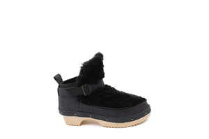 ZORA BOOTS curly black