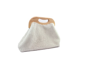 ANGOLO BAG curly off-white