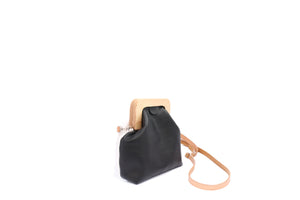 ANGOLO BAG SMALL mix black white