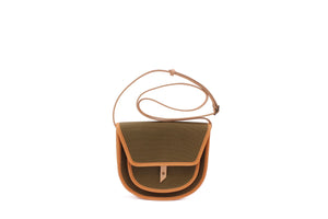BORSA canvas bag kaki small