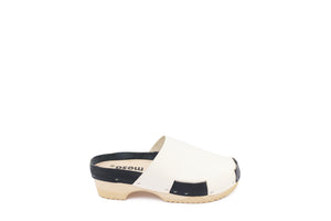 DONAU CLOG DUO WHITE/NAVY