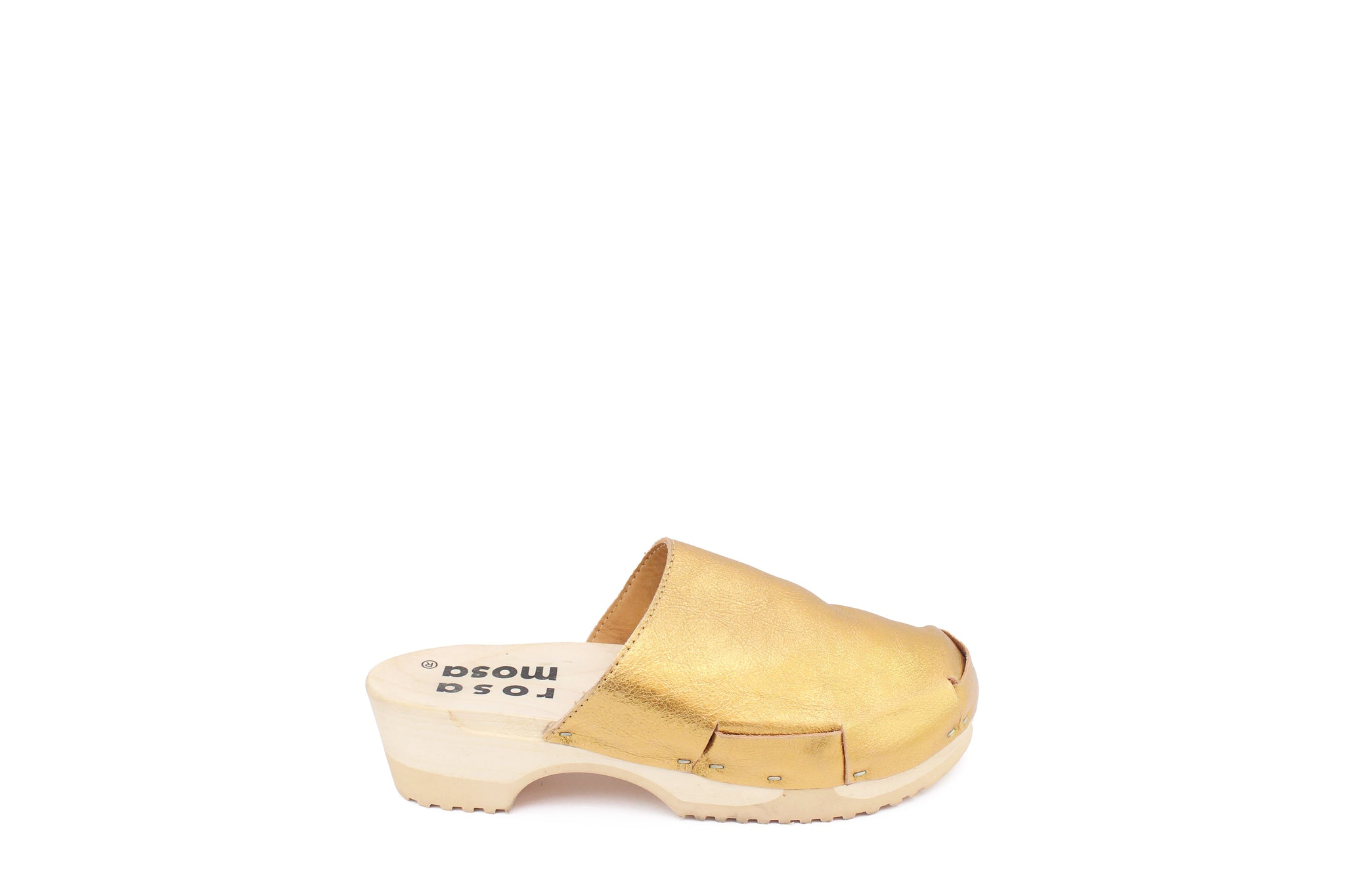 DONAU CLOG METALLIC SIMPLE GOLD