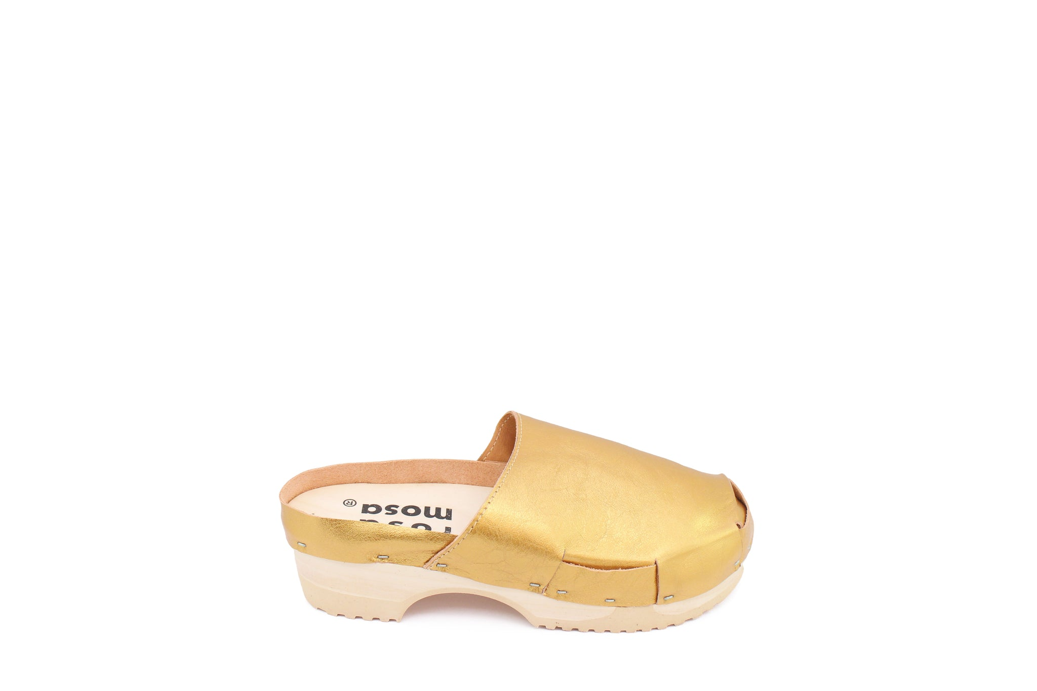 DONAU CLOG METALLIC GOLD