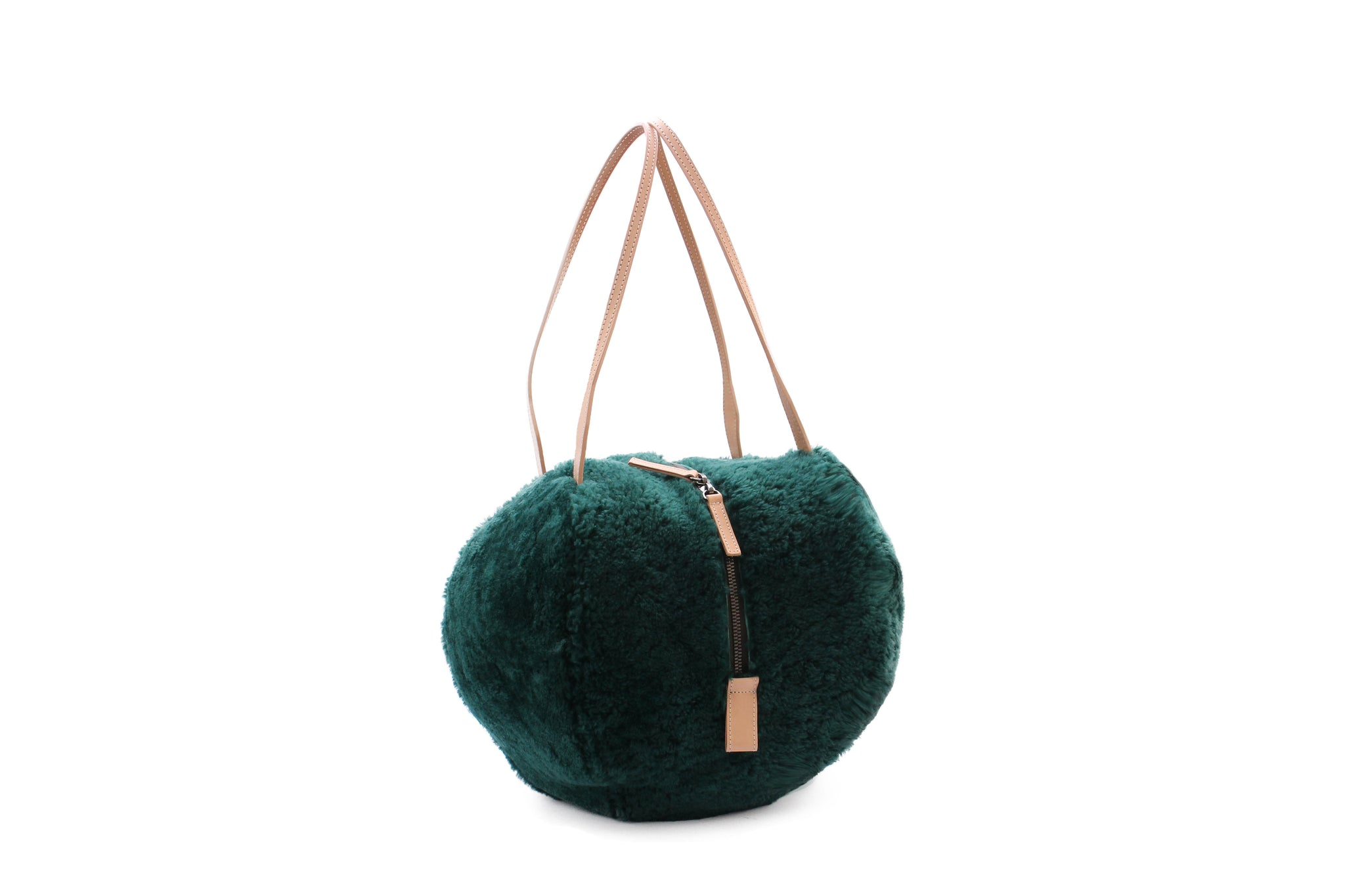 HELMET BAG M CURLY EMERALD