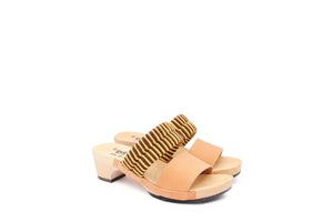 MAGO SANDALS COFFEE YELLOW